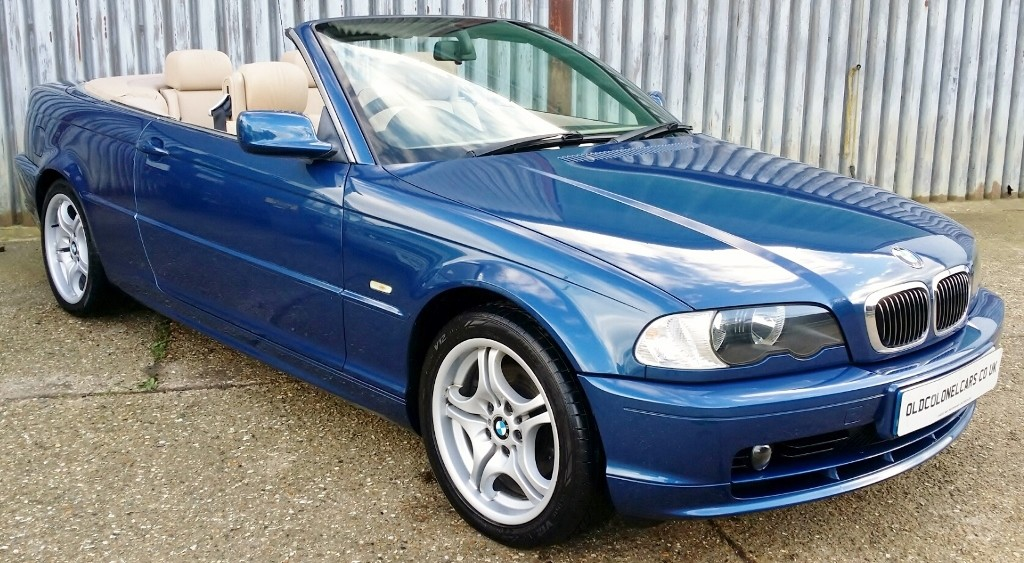BMW E46 3 SERIES 320 22 CI CONVERTIBLE AUTO