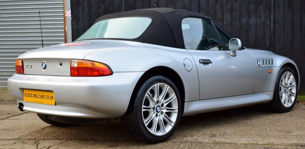 Bmw Z3 1 9 16v Twin Cam Manual Old Colonel Cars Old