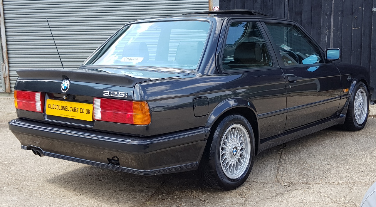 Bmw E30 3 Series 325 M Sport Manual Mtech1 Old Colonel Cars Old Colonel Cars