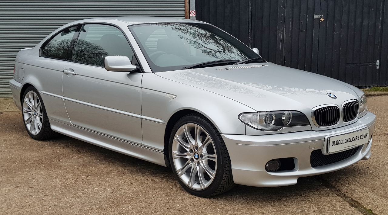 Bmw E46 3 Series 320 2 2 M Sport Manual Coupe Old Colonel Cars