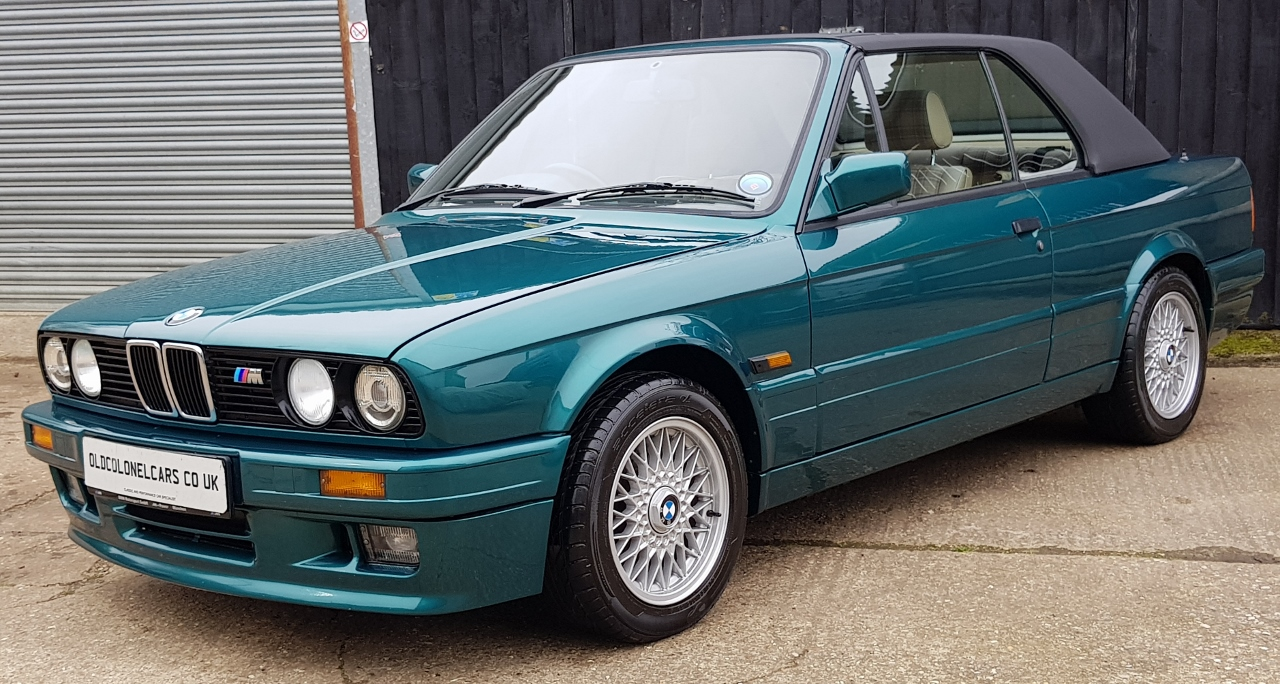 Bmw E30 3 Series 325i Convertible Manual Mtech Ii And Hardtop Old Colonel Cars Old Colonel Cars