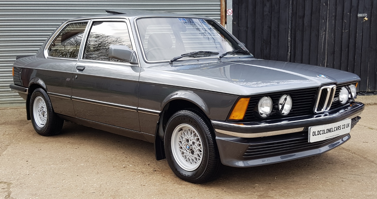 Bmw E21 3 Series 323i Le  Very Rare Model