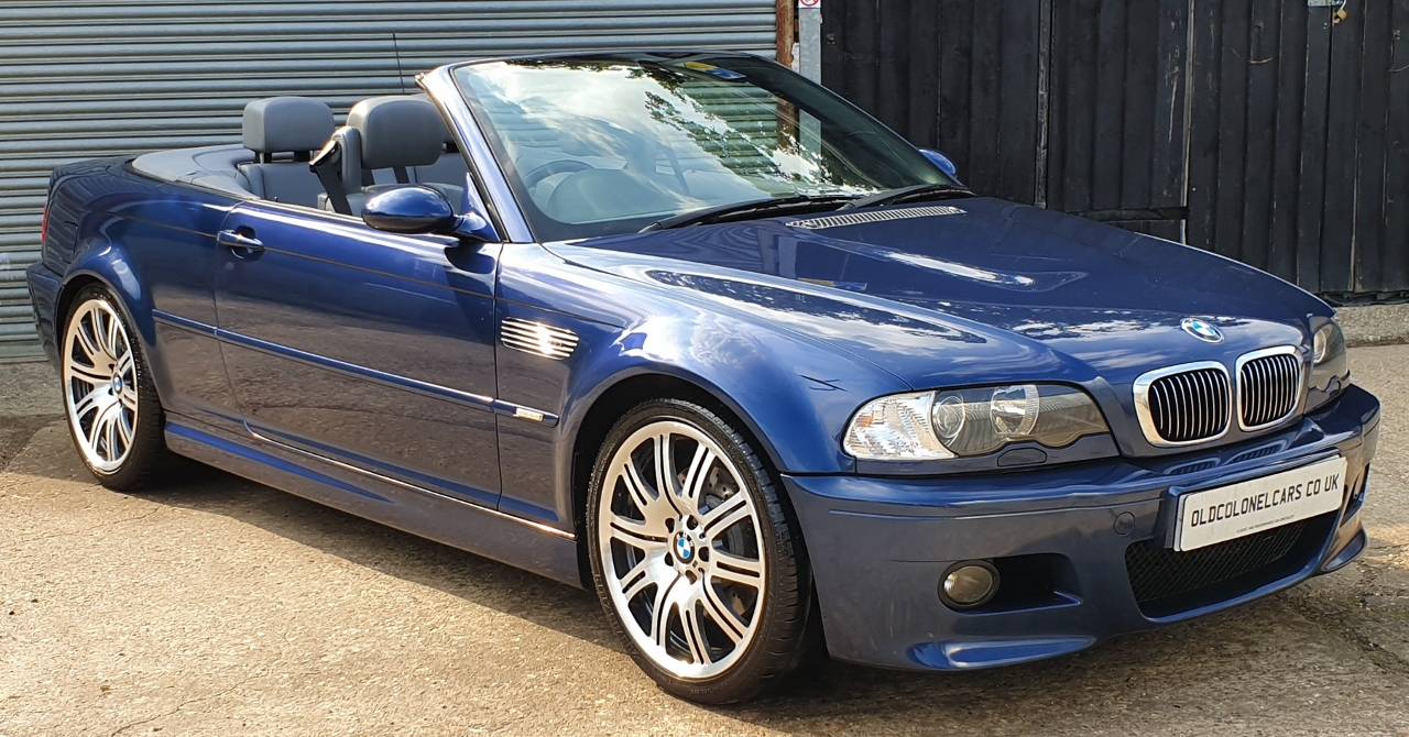Bmw E46 M3 Manual Convertible Old Colonel Cars Old Colonel Cars