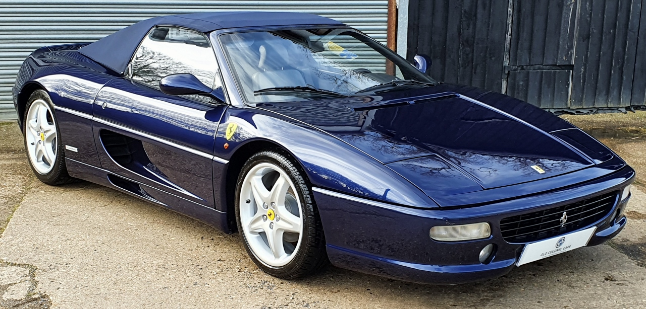 Ferrari F355 Spider Lhd 6 Speed Manual Convertible Old Colonel Cars Old Colonel Cars
