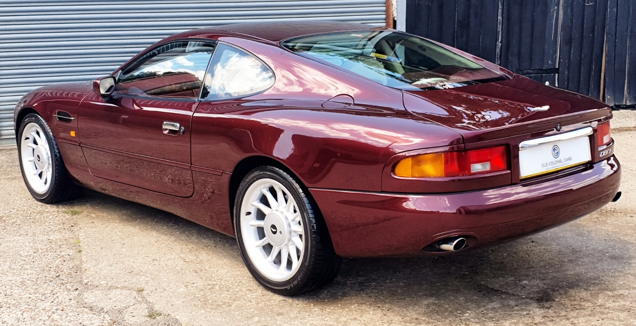 Aston Martin Db7 3 2 Straight Six Super Charged Auto Old Colonel Cars Old Colonel Cars