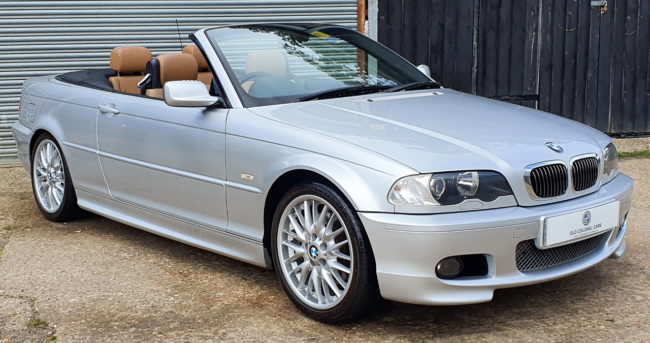 Bmw E46 3 Series 330 M Sport Convertible Manual Old Colonel Cars Old Colonel Cars