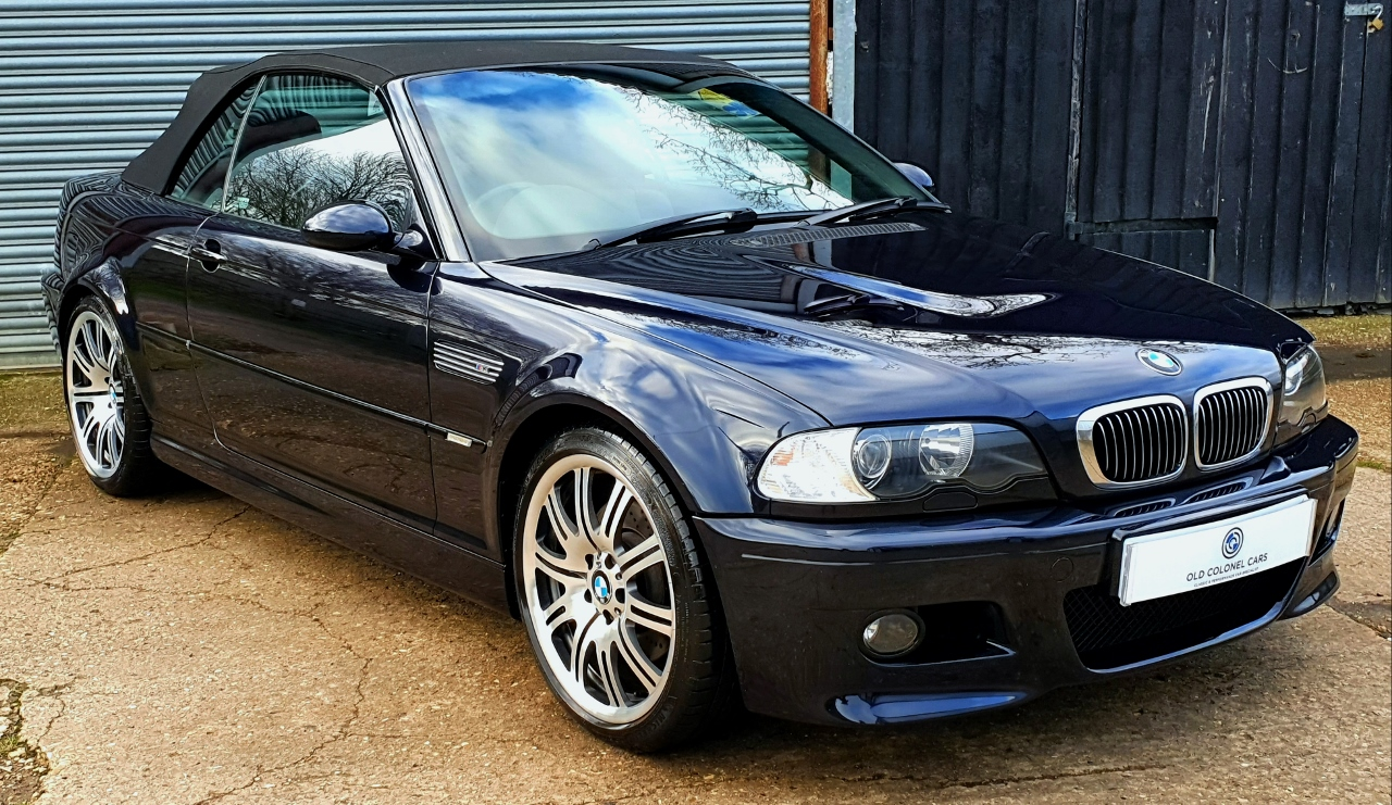 Bmw E46 M3 Convertible Old Colonel Cars Old Colonel Cars